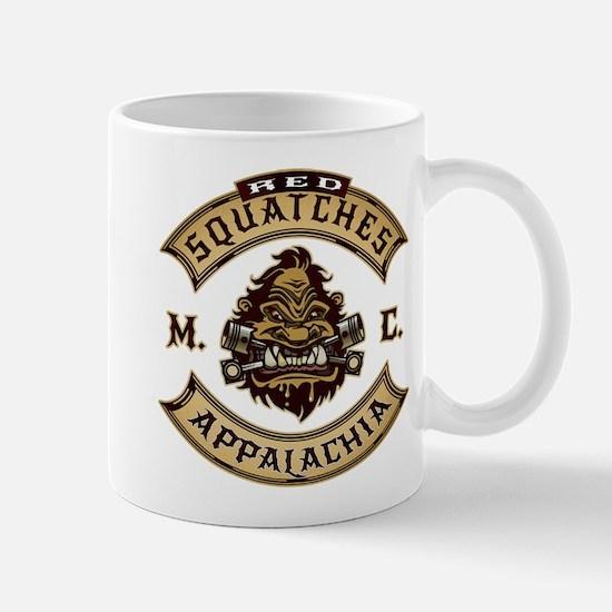 Red Squatches M.C. Appalachia Mugs