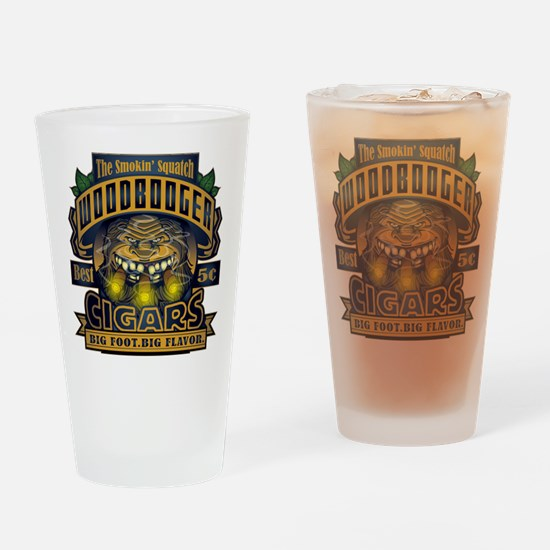 Wood Booger Cigars Drinking Glass