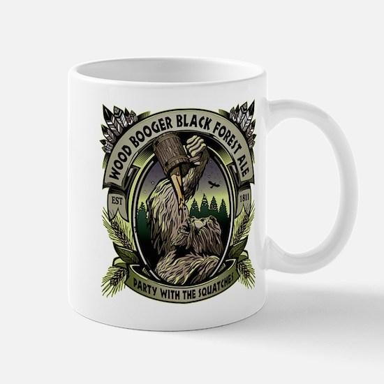 Wood Booger Black Forest Ale Mugs