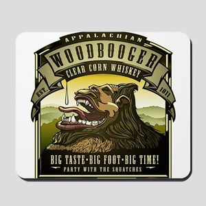 Appalachian Woodbooger Clear Corn Whiskey Mousepad