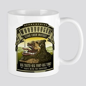 Appalachian Woodbooger Clear Corn Whiskey Mugs
