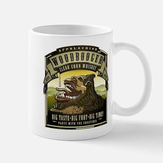 Appalachian Woodbooger Clear Corn Whiskey Mugs