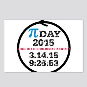 Pi Day 2015 Postcards (Package of 8)