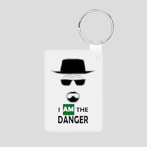 I Am The Danger Keychains