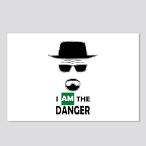 I Am The Danger Postcards (package Of 8)