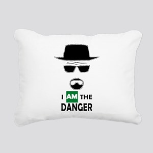 I Am The Danger Rectangular Canvas Pillow