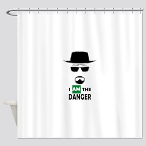 I Am The Danger Shower Curtain