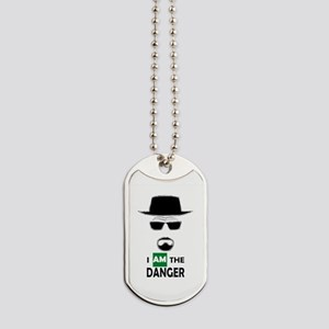 I Am The Danger Dog Tags