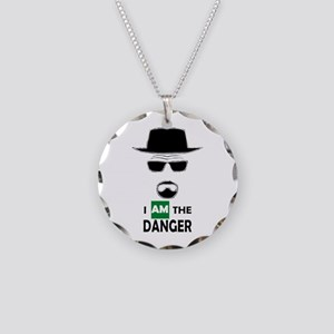 I Am The Danger Necklace Circle Charm