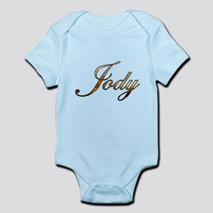 Gold Jody Body Suit