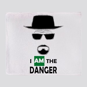 I Am The Danger Throw Blanket