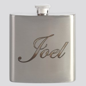 Gold Joel Flask