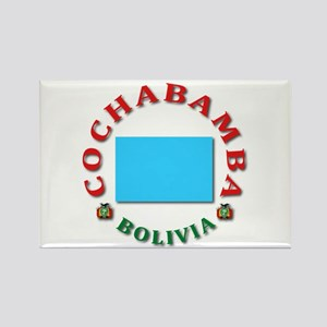 Cochabamba Rectangle Magnet