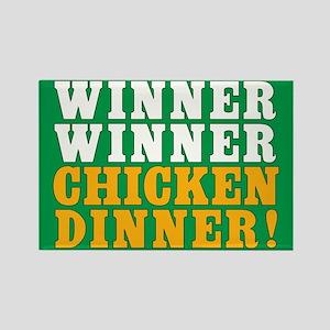 Winner Winner Chicken Dinner Magnets