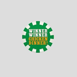 Winner Winner Chicken Dinner Mini Button