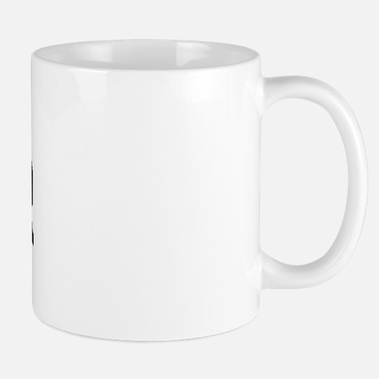 MERCER (curve-black) Mug