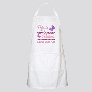 Fabulous Daughter-In-Law Light Apron