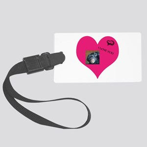 Template for YOUR FOTO - Love Luggage Tag