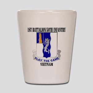 1ST BATTALION 50TH INFANTRY Shot Glass