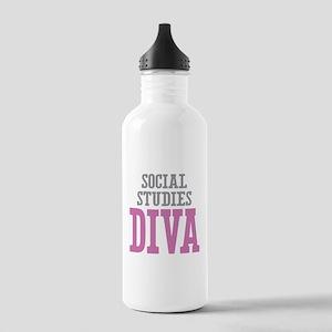 Social Studies DIVA Stainless Water Bottle 1.0L