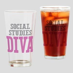 Social Studies DIVA Drinking Glass