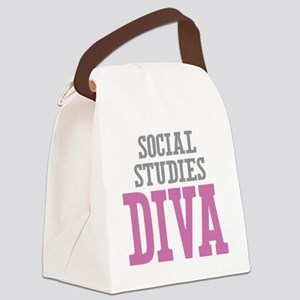 Social Studies DIVA Canvas Lunch Bag