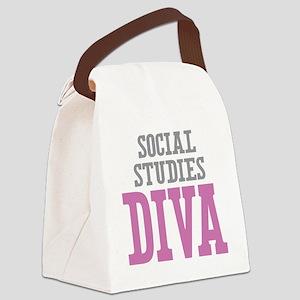 Social Studies DIVA Canvas Lunch Bag
