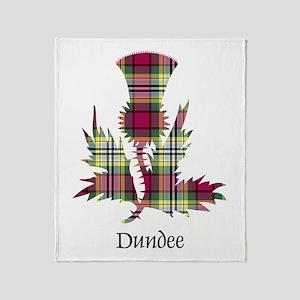 Thistle - Dundee dist. Throw Blanket