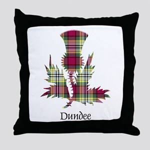 Thistle - Dundee dist. Throw Pillow