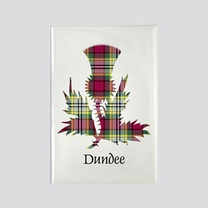 Thistle - Dundee dist. Rectangle Magnet