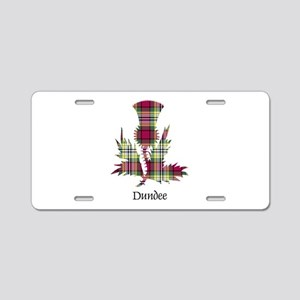 Thistle - Dundee dist. Aluminum License Plate