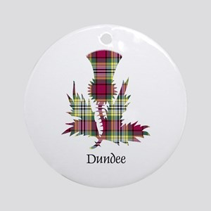 Thistle - Dundee dist. Ornament (Round)