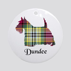 Terrier - Dundee dist. Ornament (Round)