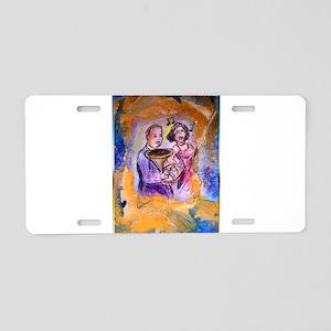 Music, entertainment, art Aluminum License Plate