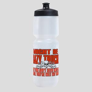 Crazy Trucker Sports Bottle