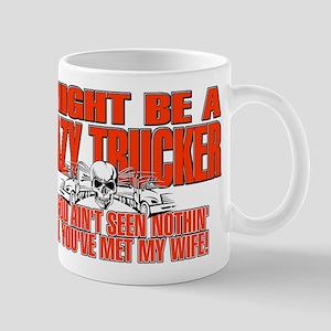 Crazy Trucker Mug