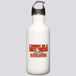 Crazy Trucker Stainless Water Bottle 1.0L
