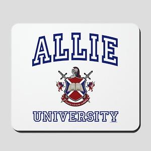 ALLIE University Mousepad
