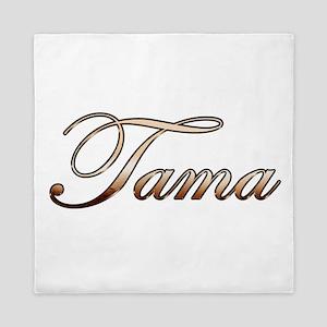 Gold Tama Queen Duvet
