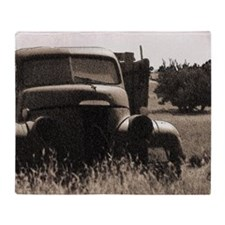 Vintage Studebaker Plush Fleece Throw Blanket