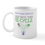 Bicycle Recycle Mug