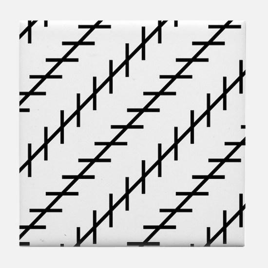 Cool Illusion Tile Coaster