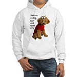 Sick as a Dog Hooded Sweatshirt
