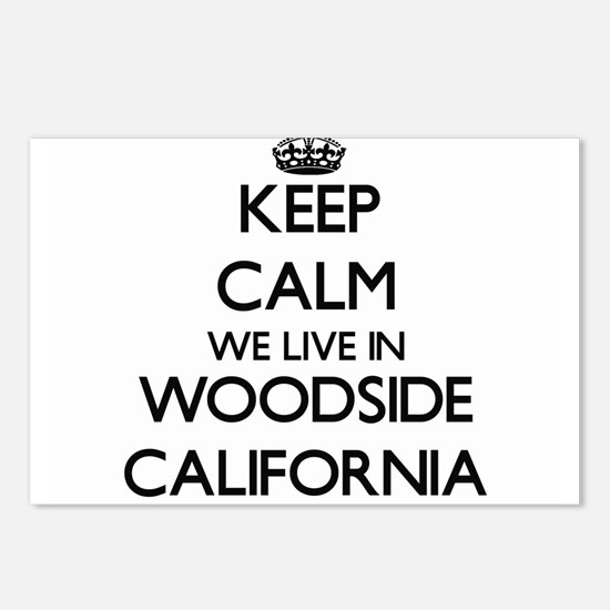 Keep calm we live in Wood Postcards (Package of 8)