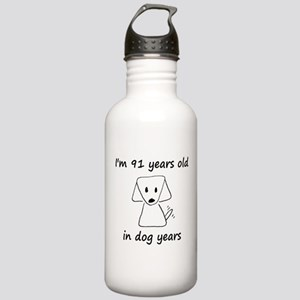 13 dog years 6 Water Bottle