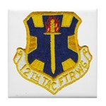 12TH TACTICAL FIGHTER WING Tile Coaster