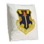 12TH TACTICAL FIGHTER WING Burlap Throw Pillow