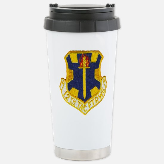 12TH TACTICAL FIGHTER W Stainless Steel Travel Mug