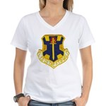 12TH TACTICAL FIGHTER WING Women's V-Neck T-Shirt