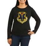 12TH TACTICAL FIG Women's Long Sleeve Dark T-Shirt